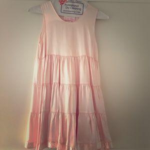 Teddie Tillett Girls Pink Satin Dress, size 8